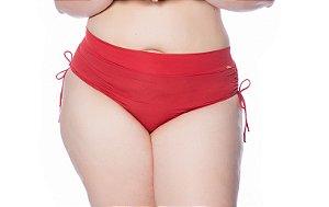 Biquíni Calcinha Abigail Plus Size Vermelho