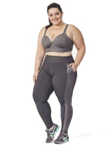 Legging Clotilde Plus Size Mescla
