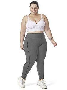 Legging Jade Plus Size Mescla / Preto