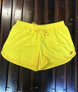 Shorts valentina amarelo