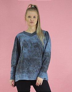 Blusão camila azul