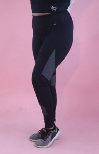 Legging akira preto com mescla