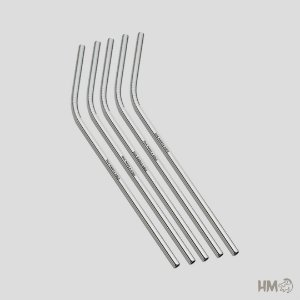5 unidades Canudo de Metal
