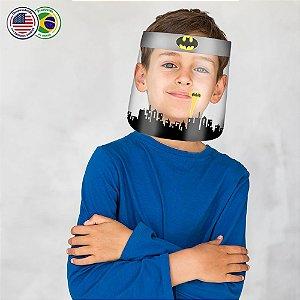 Protetor Facial Infantil com Desenhos animados