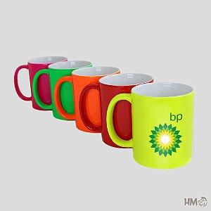 10 unidades Caneca Colorida Personalizada