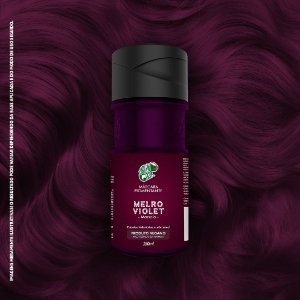 Máscara Pigmentante Marsala Kamaleão Color 150ml - Melro Violet