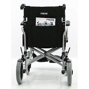 Cadeira de rodas compacta estrutura e encosto dobrável  Barcelona 45 cm