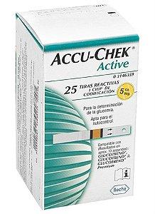 Fita Accu-Chek c/25