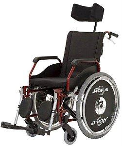 Cadeira de Rodas Agile Reclinável