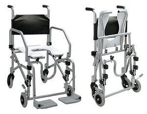Cadeira de Banho Alumínio Dobrável Baxmann