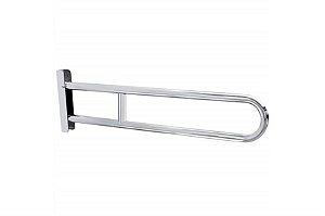 Barra de segurança de aluminio rebatível