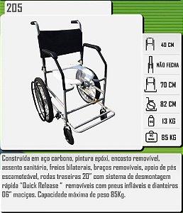 Cadeira Higiênica 205 CDS