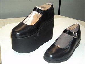 Sapato com Compensação de Altura
