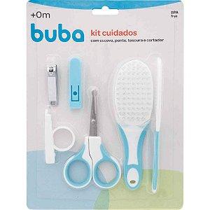 Kit Cuidados com pente e cortador unha Azul Buba