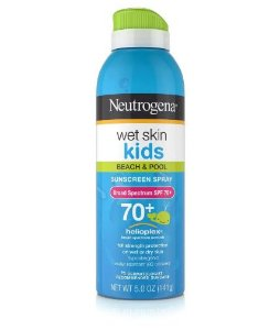 Protetor Solar Kids Wet Skin FPS 70+ Neutrogena