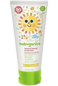 Protetor Solar Orgânico FPS 50+  Babyganics