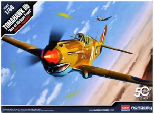 """Academy - Tomahawk IIb """"Ace of African Front"""" - 1/48"""