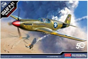 "Academy - USAAF P-51 ""North Africa"" - 1/48"