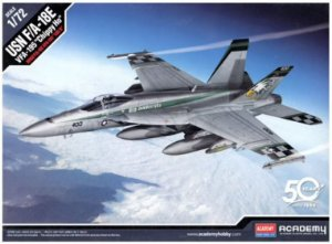 "Academy - USN F/A-18E Super Hornet VFA-195 ""Chippy Ho"" - 1/72"