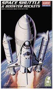 Academy - Space Shuttle & Booster Rockets - 1/288