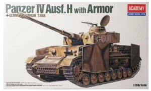 Academy - Panzer IV Ausf.H with Armor - 1/35