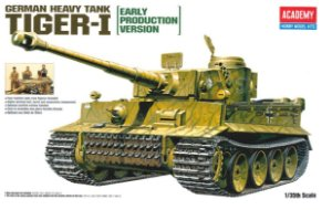 Academy - Tiger I Early Production - 1/35