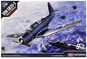 "Academy - USN SB2U-3 ""Battle of Midway"" - 1/48"