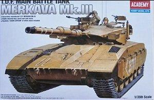 Academy - I.D.F. Main Battle Tank Merkava Mk.III - 1/35