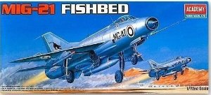 Academy - MiG-21 Fishbed - 1/72