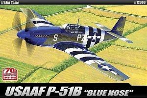 "Academy - USAAF P-51B ""Blue Nose"" - 1/48"