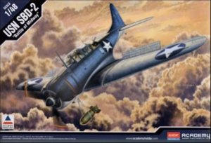 "Academy - USN SBD-2 ""Battle of Midway"" - 1/48"