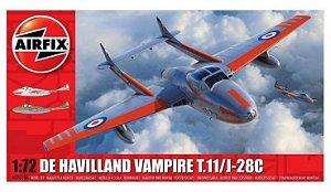 AIRFIX -  DeHavilland Vampire T.11 / J-28C - 1/72