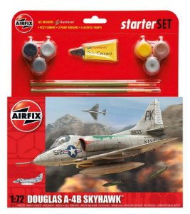 AIRFIX - DOUGLAS A-4B SKYHAWK STARTER SET - 1/72