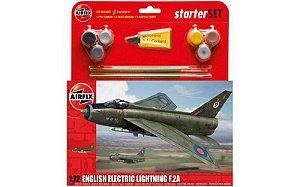 AIRFIX - E.E. LIGHTNING F.2A STARTER SET - 1/72