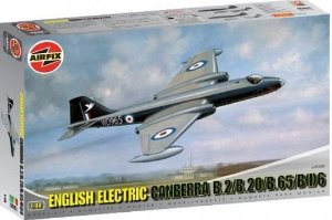 AIRFIX - ENGLISH ELECTRIC CANBERRA B.2/ B20 - 1/48