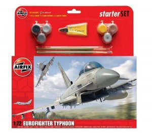 AIRFIX - EUROFIGHTER TYPHOON STARTER SET - 1/72