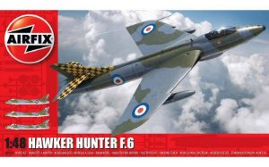 AIRFIX - HAWKER HUNTER F.6 - 1/48