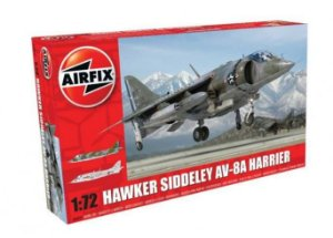 AIRFIX - HAWKER SIDDELEY HARRIER AV-8A - 1/72