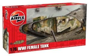 AIRFIX - WWI FEMALE TANK - 1/76