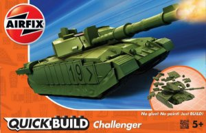 AIRFIX QUICK BUILD - CHALLENGER TANK