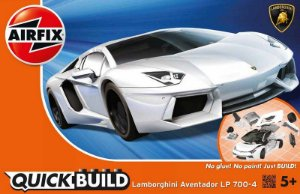 AIRFIX QUICK BUILD - LAMBORGHINI AVENTADOR