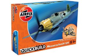 AIRFIX QUICK BUILD - MESSERSCHMITT BF-109E