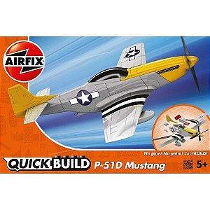 AIRFIX QUICK BUILD - MUSTANG P-51D