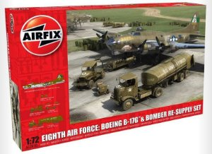 AIRFIX- EIGHT AIR FORCE RESUPLLY SET - 1/72