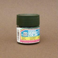 Gunze - Aqueous Hobby Colors 060 - IJA Green (Semi-Gloss)