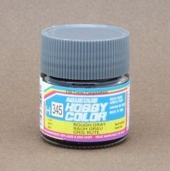 Gunze - Aqueous Hobby Colors 345 - Rough Gray (Flat)