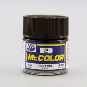 Gunze - Mr.Color 002 - Black (Gloss)