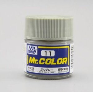 Gunze - Mr.Color 011 - Light Gull Gray (Semi-Gloss)