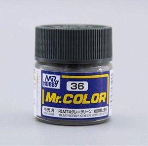 Gunze - Mr.Color 036 - RLM74 Gray Green (Semi-Gloss)