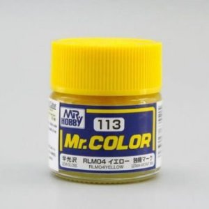 Gunze - Mr.Color 113 - RLM04 Yellow (Semi-Gloss)